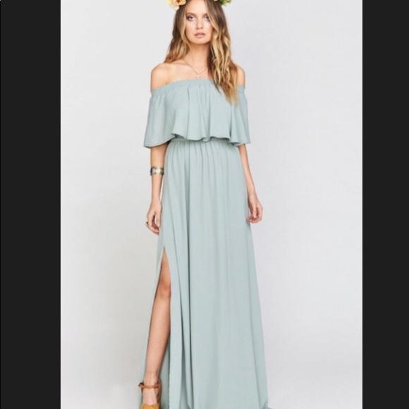 8283faac31a04a Show Me Your MuMu Dresses | Hacienda Maxi Dress Silver Sage | Poshmark